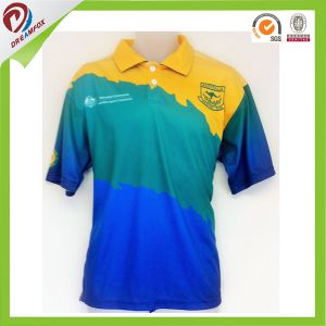 New Design Cheap Custom Sublimated Polo Shirt pictures & photos