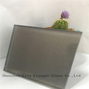 5mm+Silk+5mm Grey Mirror Laminated Glass/Sandwich Glass/Tempered Glass/Safety Glass pictures & photos