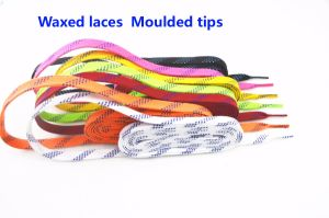 New Product Hot Sale Waxed Hockey Laces, Ice Hockey Shoelace pictures & photos