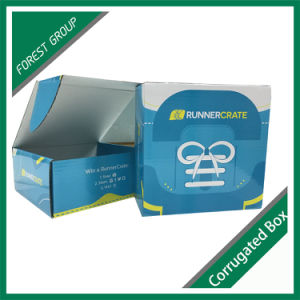 Recyclable Accept Custom Order Blue Packaging Box pictures & photos