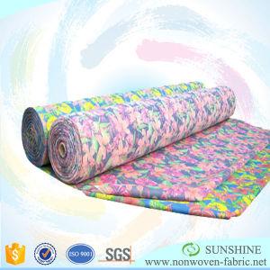 Custom Design Print 100%PP Non Woven Fabric pictures & photos