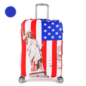 Protective Spandex Waterproof Luggage Cover with Custom Logo pictures & photos