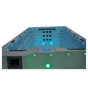 60PCS Jets Outdoor Swimming SPA Pool with LED Lights pictures & photos
