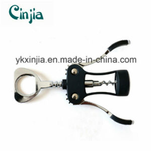Kitchen Tool Corkscrew Zinc Alloy Wine Opener pictures & photos