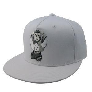 Fashion Hip Hop Flat Brim Cotton Snapback Cap Custom pictures & photos