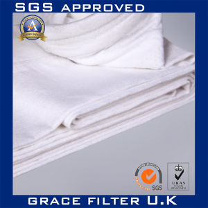 High Temperature Filter Bags PTFE Filtration Felt PTFE Filter Bags (PTFE 704) pictures & photos