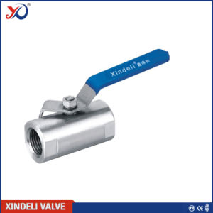 Stainless Steel 1PC NPT 1000wog Ball Valve with Ce Certificate pictures & photos