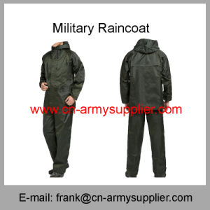 Military Raincoat-Traffic Raincoat-Police Raincoat-Army Raincoat-Duty Raincoat pictures & photos