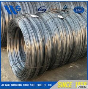 a Quality Galvanize Spring Steel Wires High Carbon Material pictures & photos