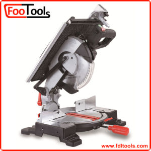 10′′ 1600W Compound Miter Saw with Upper Table (220630) pictures & photos