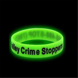 Customize Silicone Glowing Bracelet Wristband for Concert Bar Party pictures & photos