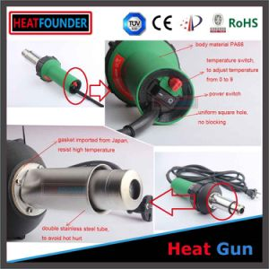 Handheld Hot Air Plastic Welders Gun Banners Tarpaulins pictures & photos