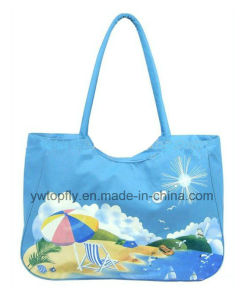 Beautiful Flower Styles Beach Bag Leisure Bag pictures & photos