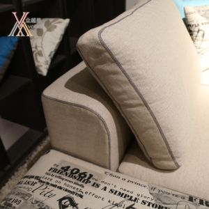 Fabric Sofa with Ottoman (GC809) pictures & photos