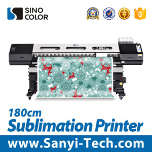 74-Inch / 1.8 Meter Sinocolorwj-740 High Quality Eco Solvent Printer, Sinocolor Eco-Solvent Printer, Cost -Effective Eco Solvent Printer Sublimation Printer pictures & photos