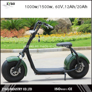 Two Seat Harley Electric Scooter Motor City Coco 1500W Electric Scooter pictures & photos