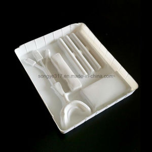 PS Flockingwhite Dental Medicine Hardware Tools Product Blister Packaging Tray pictures & photos