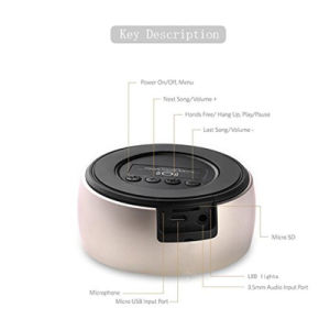 Indoor Mini Portable Bluetooth Wireless Speaker pictures & photos