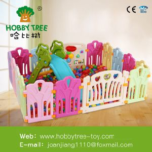Baby Playpen Colorful Safe Plastic Fence for Kid