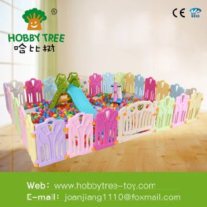 Lovely Kids Playing Zone Safety Children Protection Fence Custom Plastic Baby Playpen