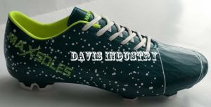 Galaxy Print of Men′s Football Boots pictures & photos