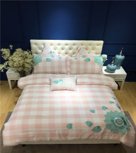 Factory Supply Affordable Brush Cotton King Size Bedding for Hotel Apartment pictures & photos
