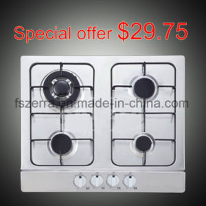 Hot Sell Built-in 4 Burner Stainless Steel Gas Stove S4501A pictures & photos
