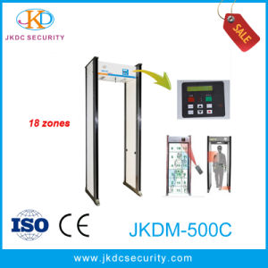 18 Zones Large Screen LCD Walk Through Metal Detector Jkdm-500c pictures & photos