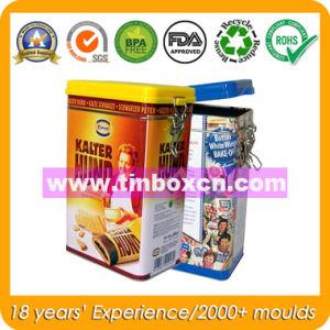 Airtight Coffee Tin Box with Food Grade, Rectangular Food Tin pictures & photos