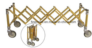 Golden Aluminum Alloy Funeral Church Trolley pictures & photos