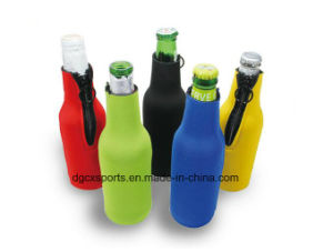 Neoprene Single Water Bottle Cover with Printing pictures & photos