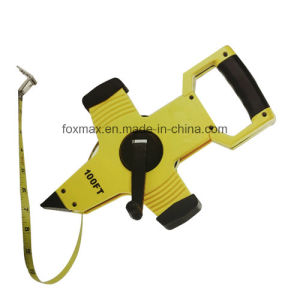 Tape Measures High Quality Long Steel Tape with Nylon Coated pictures & photos