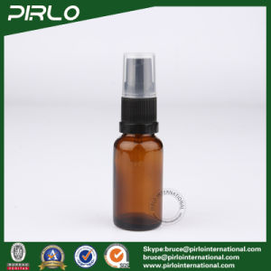 30ml Amber Glass Spray Bottles with Black Lotion Sprayer pictures & photos
