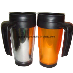 Double Wall Plastic Travel Mug pictures & photos