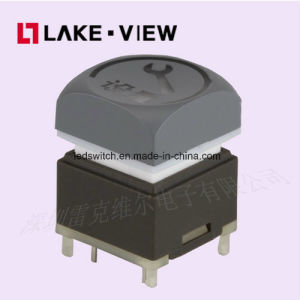 Long Travel Illuminated Pushbutton Switch Has Either Momentary or Latching Designs pictures & photos