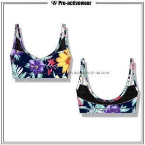 OEM Wholesale Seamless Women Custom Fitness Sports Bra pictures & photos