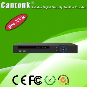 H. 265 8CH Network Video Recorder 2 SATA Poe NVR (CK-A9308POE) pictures & photos