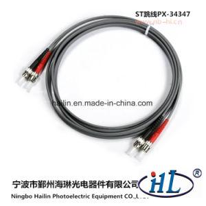 Duplex St/mm Fiber Optic Patch Cord for Fiber LAN pictures & photos