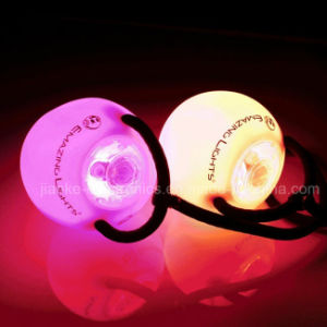 Hot Sell LED Poi Thrown Balls with Logo Printing (3560) pictures & photos