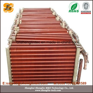 Copper Tube Copper Fin Air Cooled Condenser pictures & photos