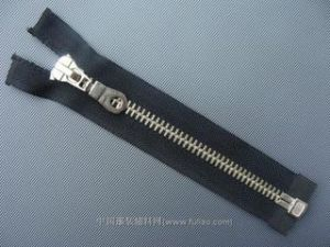 5# Aluminum Zipper Open-End with Hook Pipa Slider
