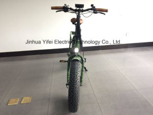 20 Inch Folding off Road Wide Tire Lithium Battery Fat Electric Bike pictures & photos