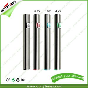 Ocitytimes S3 Hotselling 510 Thread Vape Button Cbd Preheat Battery pictures & photos