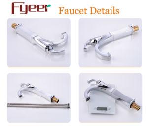Fyeer Original Fashion High Body Faucet Kitchen Steamline Brass Sink Water Mixer Tap pictures & photos