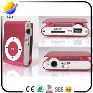 Classic 8-Color Screen-Free SD Card Metal Clip MP3 pictures & photos
