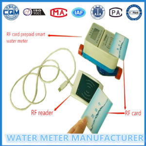 Dn15mm Prepaid Water Meter for RF Card Household Water Meter pictures & photos