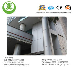 Coated Aluminum Curtain Wall pictures & photos