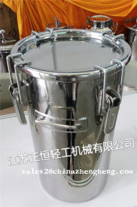 10L 20L 30L 50L 60L 70L 100L GMP Stainless Steel Bucket with Good Sealing SUS 304 SUS 316L pictures & photos