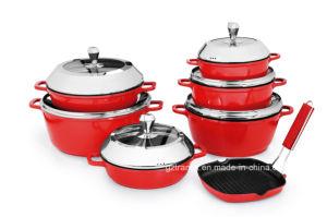 Nonstick Casting Aluminum Sauce Pan Milk Pan with Lid pictures & photos