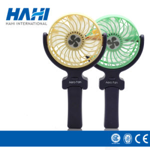 Plastic Portable Cooling Travel Handheld Small Rechargeable Fan pictures & photos
